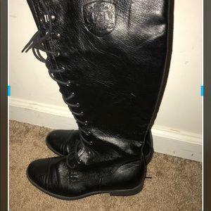 Rocket Dog Shoes - Rocket Dog lace up riding boots
